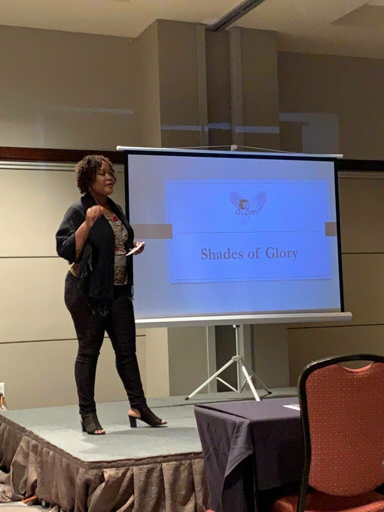 Speaking at the 2019 Wealthy Women Growth Con in Charleston, SC